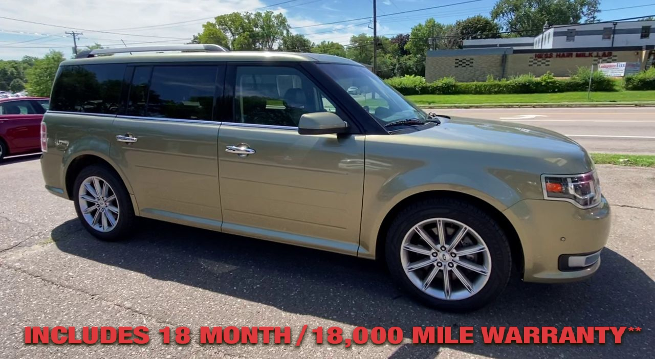 Pre-Owned 2013 FORD FLEX Limited Sp