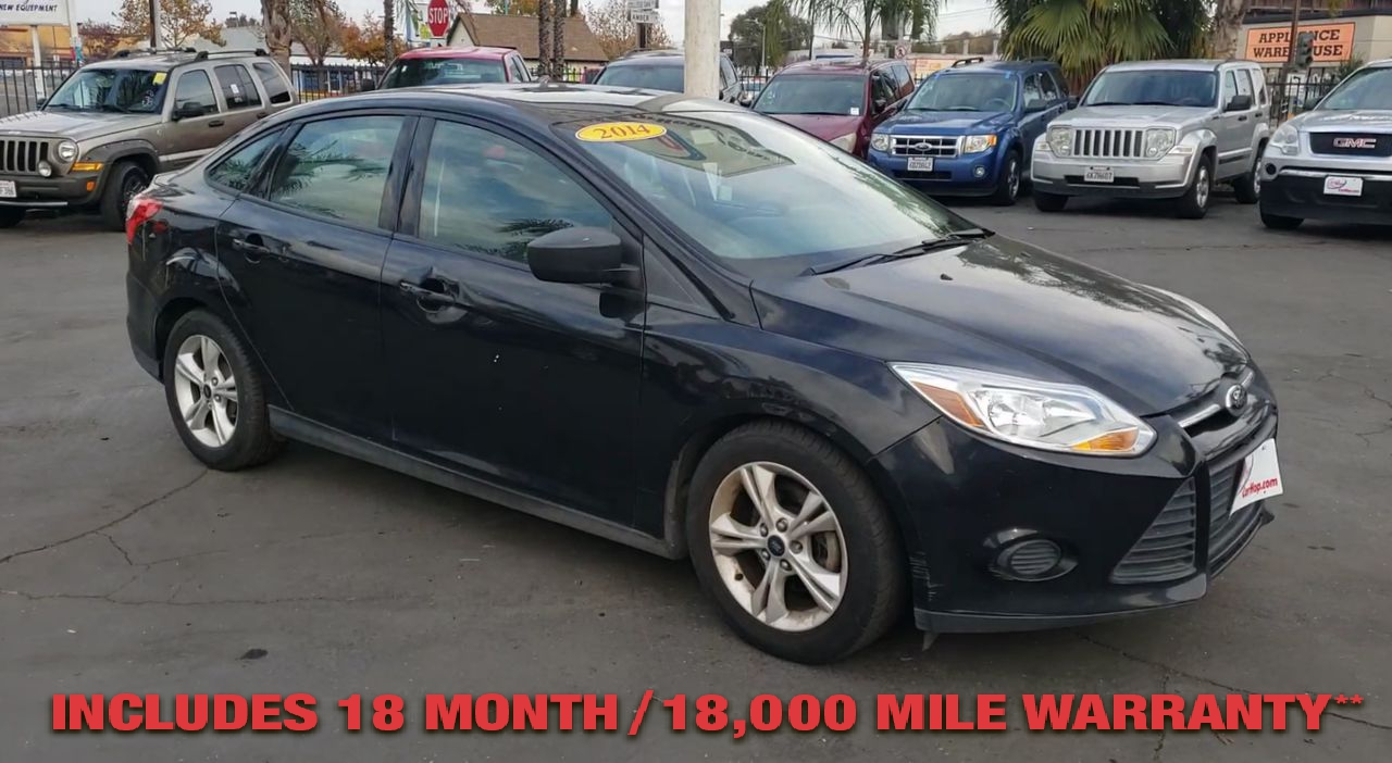 Pre-Owned 2014 FORD FOCUS SE Sedan 4