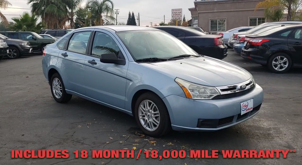 Pre-Owned 2009 FORD FOCUS SE Sedan 4