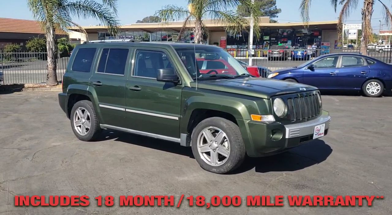 Pre-Owned 2008 JEEP PATRIOT Limited Sp