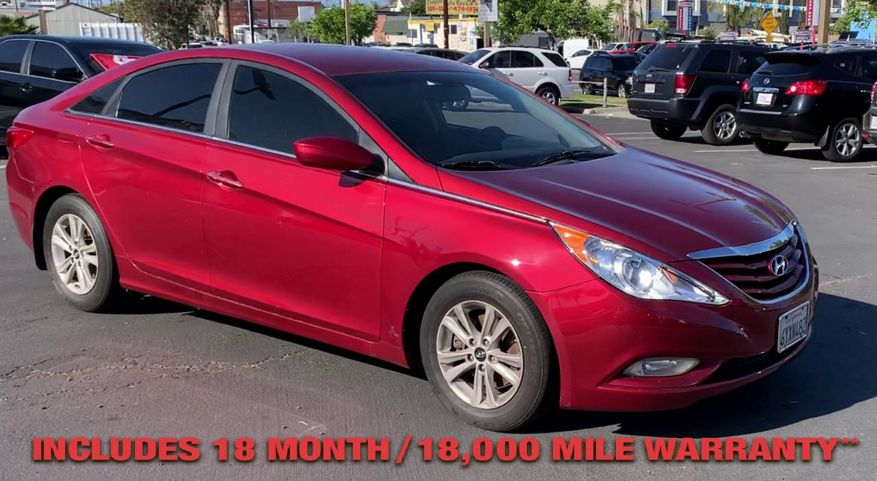 Pre-Owned 2013 HYUNDAI SONATA GLS Sedan