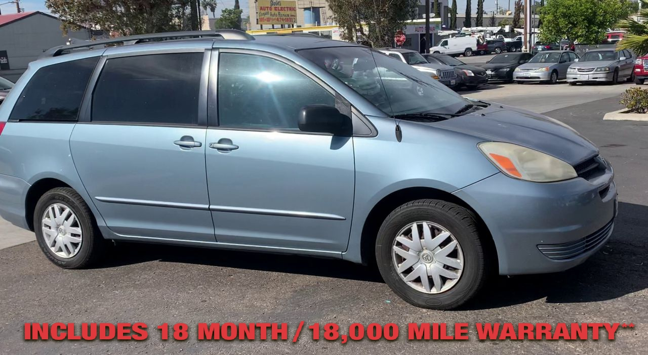 Pre-Owned 2005 TOYOTA SIENNA LE Minivan