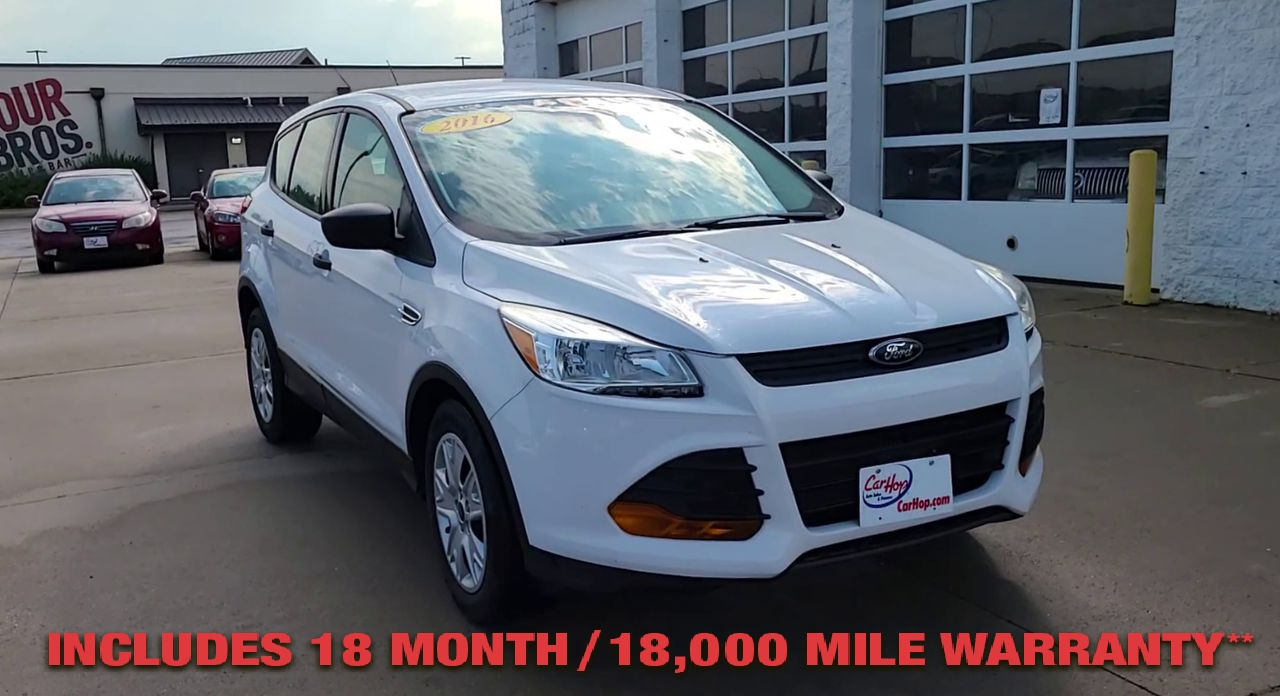 Pre-Owned 2016 FORD ESCAPE S Sport Ut