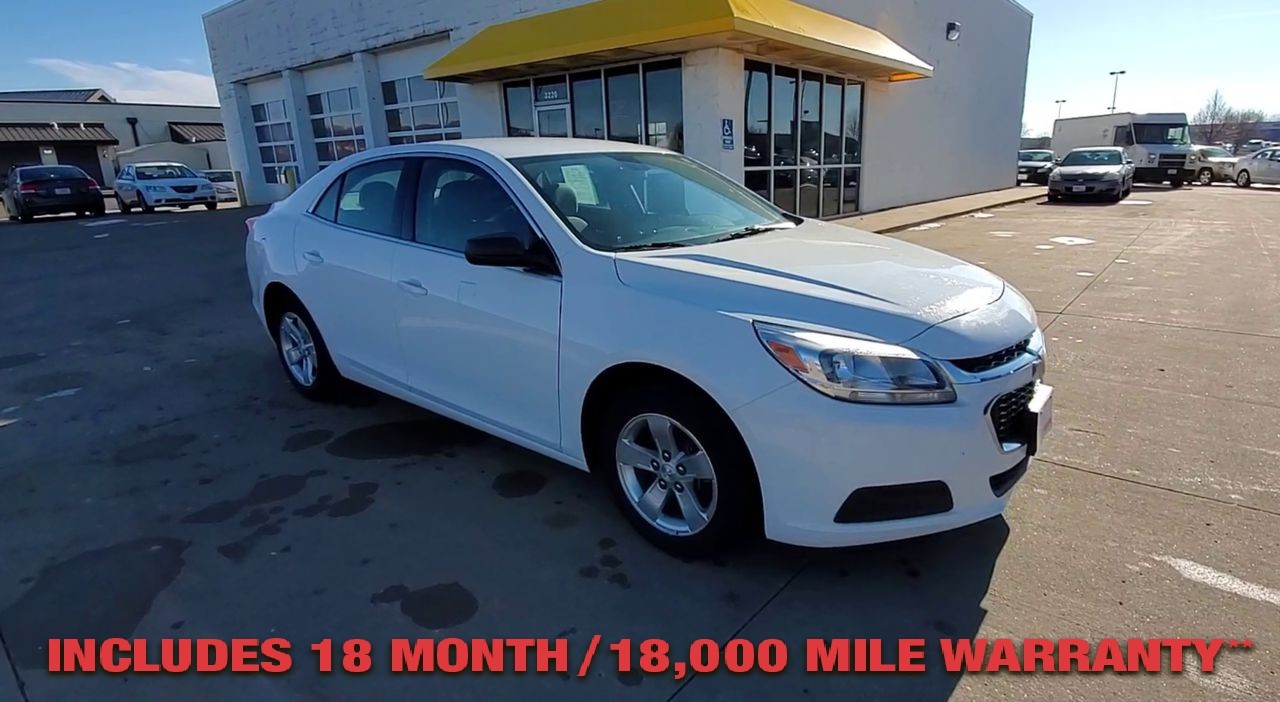 Pre-Owned 2016 CHEVROLET MALIBU LS Sedan 4
