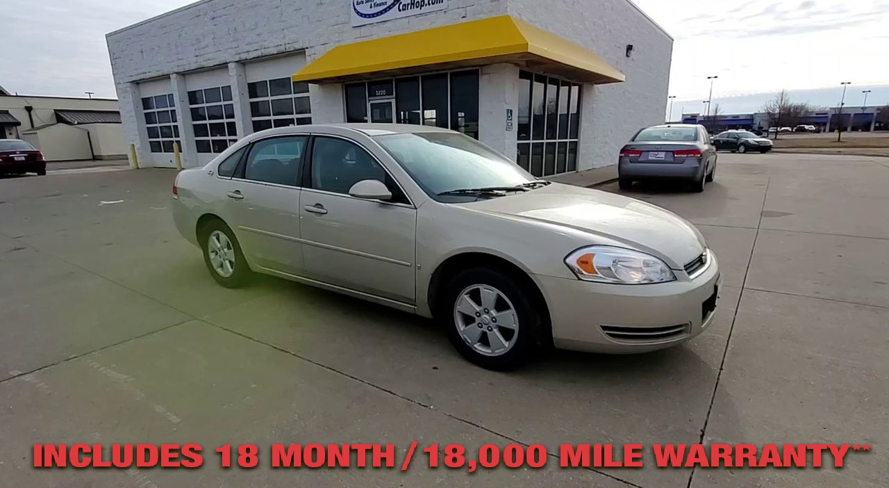 Pre-Owned 2008 CHEVROLET IMPALA LT Sedan 4