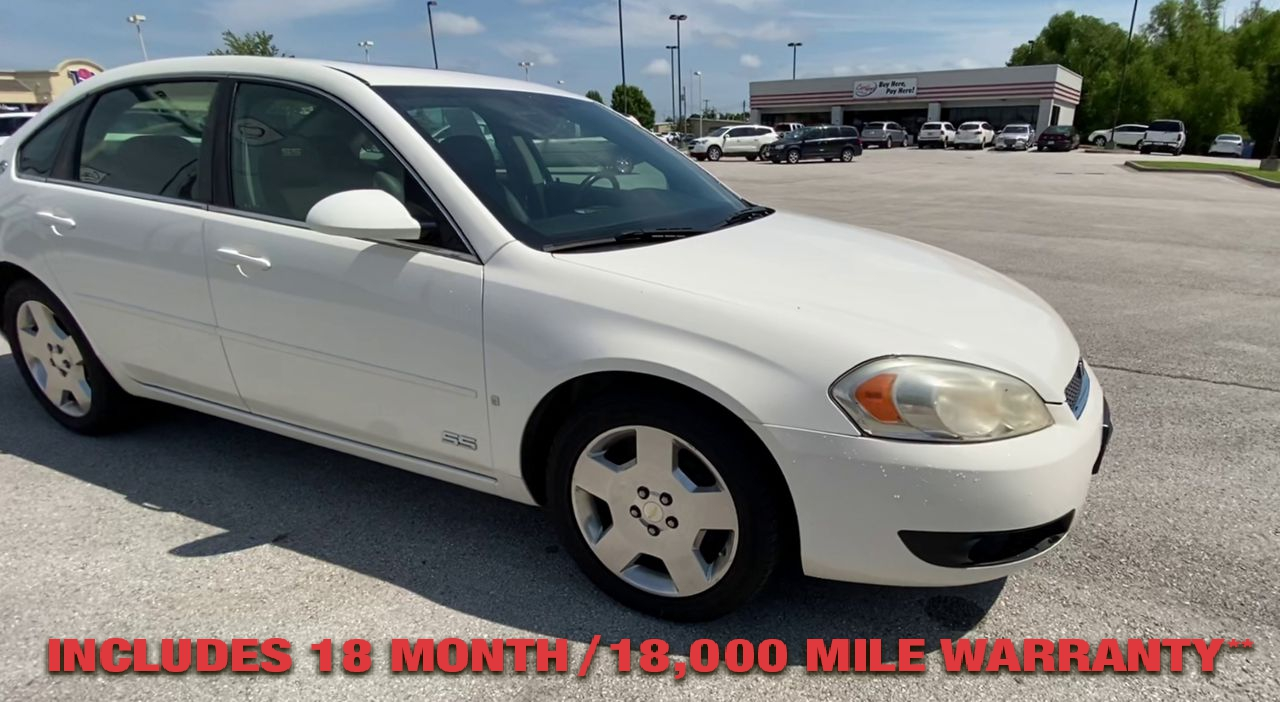 Pre-Owned 2007 CHEVROLET IMPALA SS Sedan 4