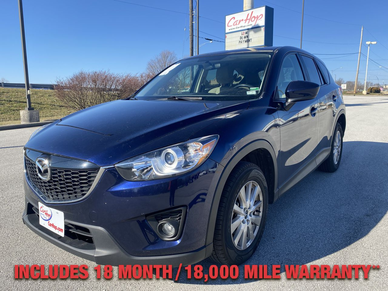 Pre-Owned 2013 MAZDA CX-5 TOURING SP