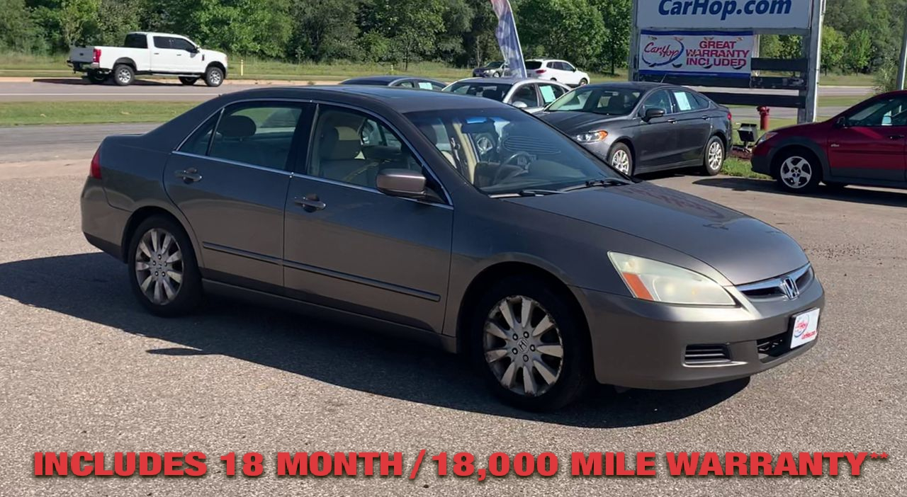 Pre-Owned 2007 Honda ACCORD EX-L Sedan