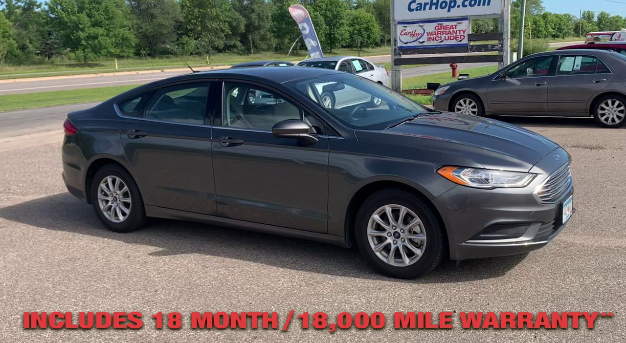 Pre-Owned 2017 FORD FUSION S Sedan 4D