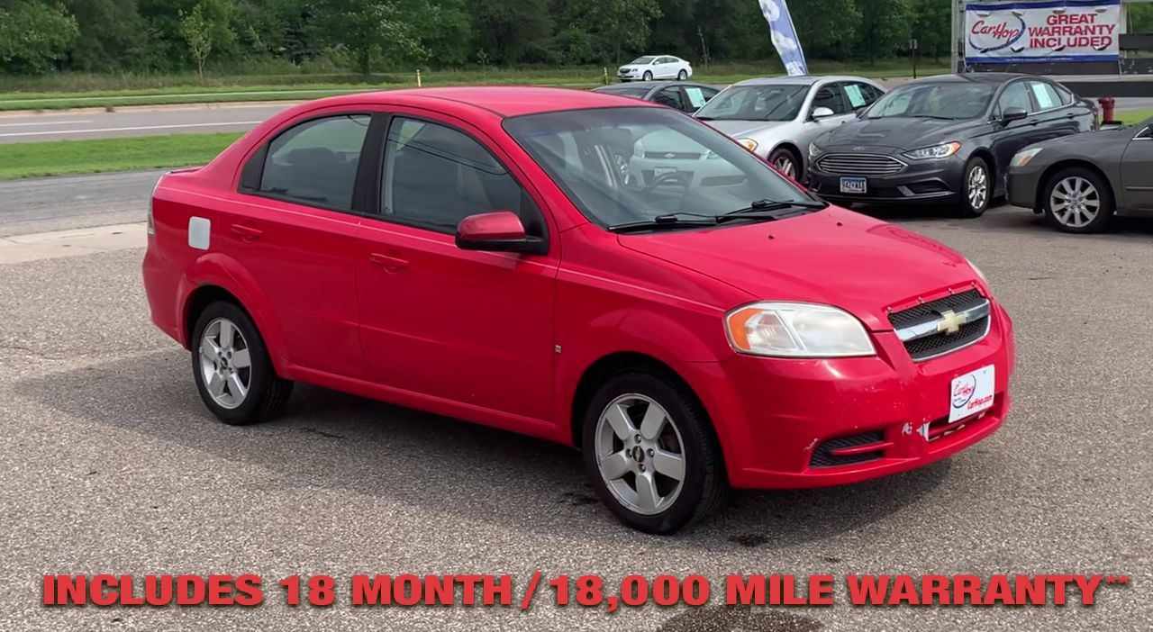 Pre-Owned 2009 CHEVROLET AVEO LS Sedan 4