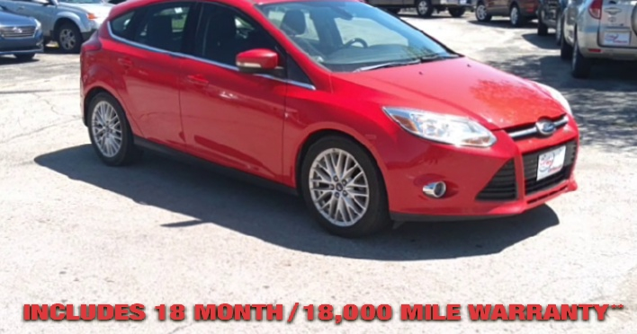 Pre-Owned 2012 FORD FOCUS SEL Hatchb