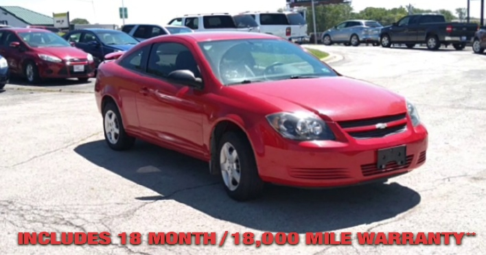 Pre-Owned 2006 CHEVROLET COBALT LS Coupe 2