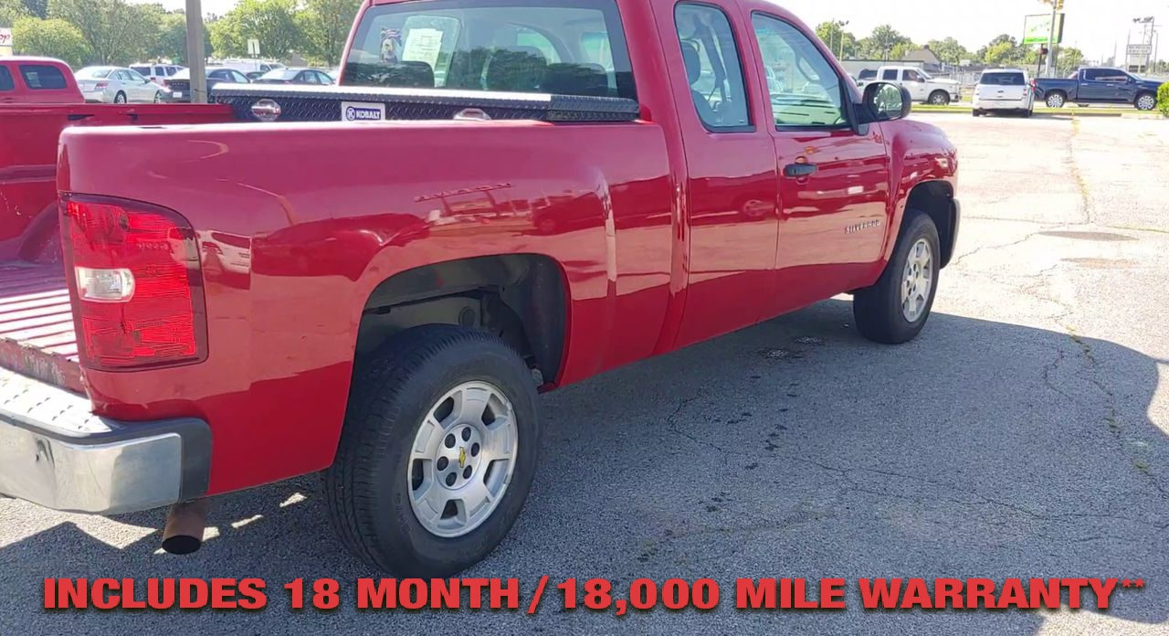 Pre-Owned 2012 CHEVROLET SILVERADO Work Truck