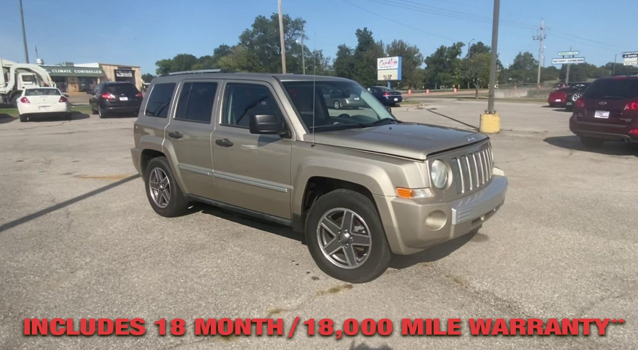 Pre-Owned 2009 JEEP PATRIOT Limited Sp