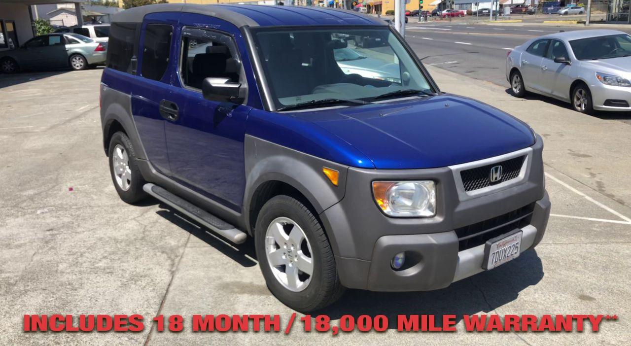 Pre-Owned 2004 Honda ELEMENT EX Sport U