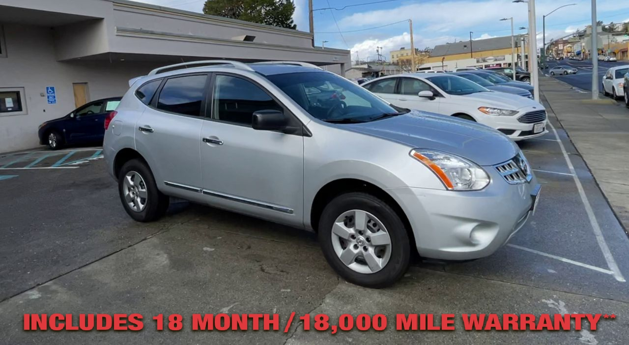 Pre-Owned 2015 NISSAN ROGUE S Sport Ut