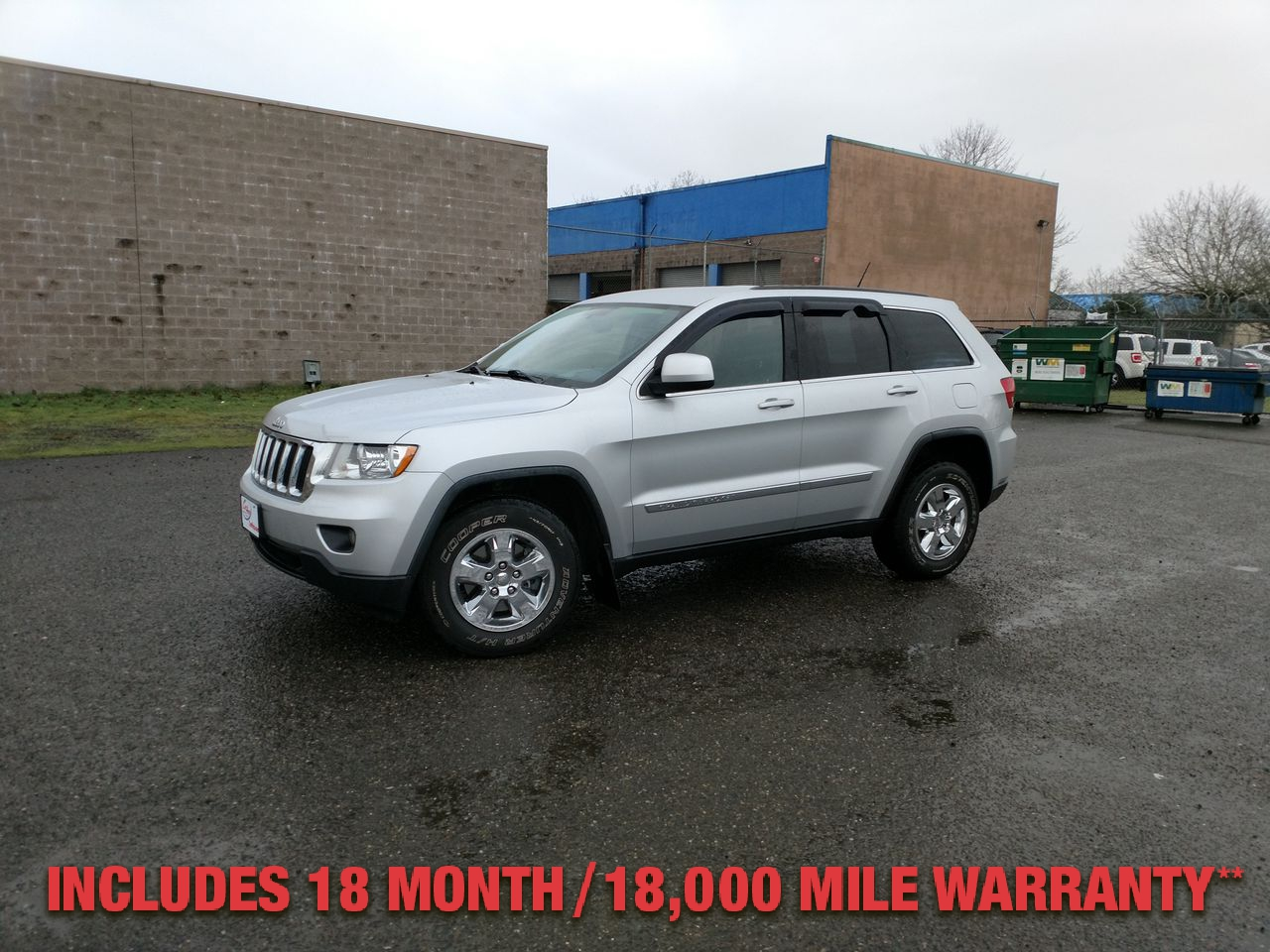 Pre-Owned 2012 JEEP GRAND CHEROKEE Laredo Spo