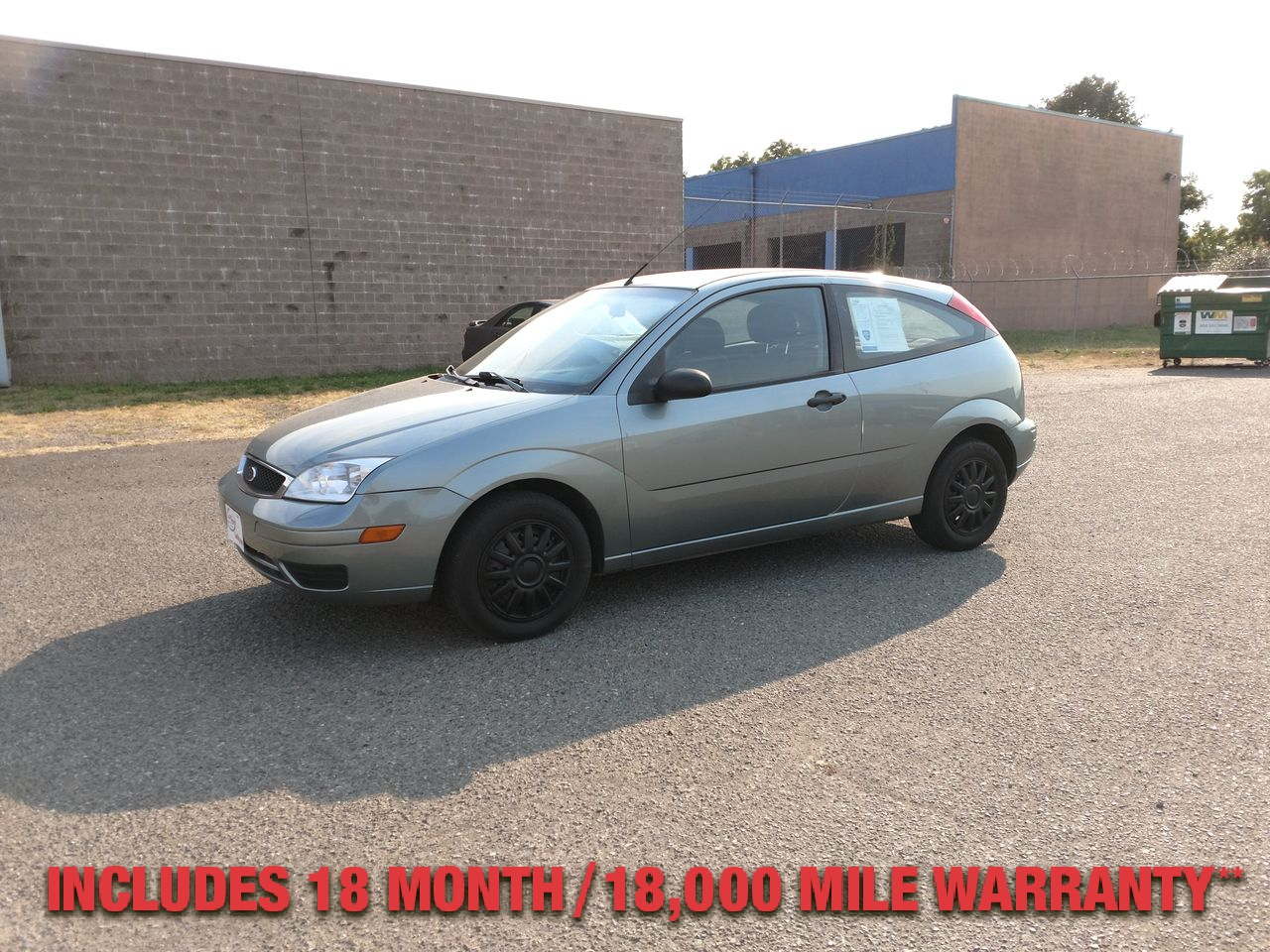 Pre-Owned 2006 FORD FOCUS ZX3 S