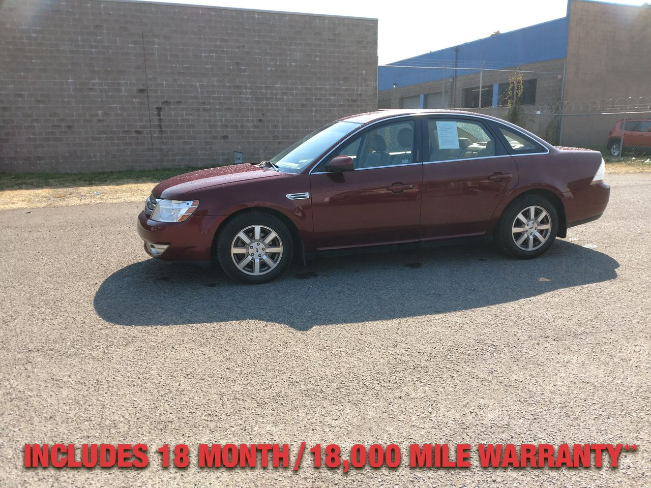 Pre-Owned 2008 FORD TAURUS SEL Sedan