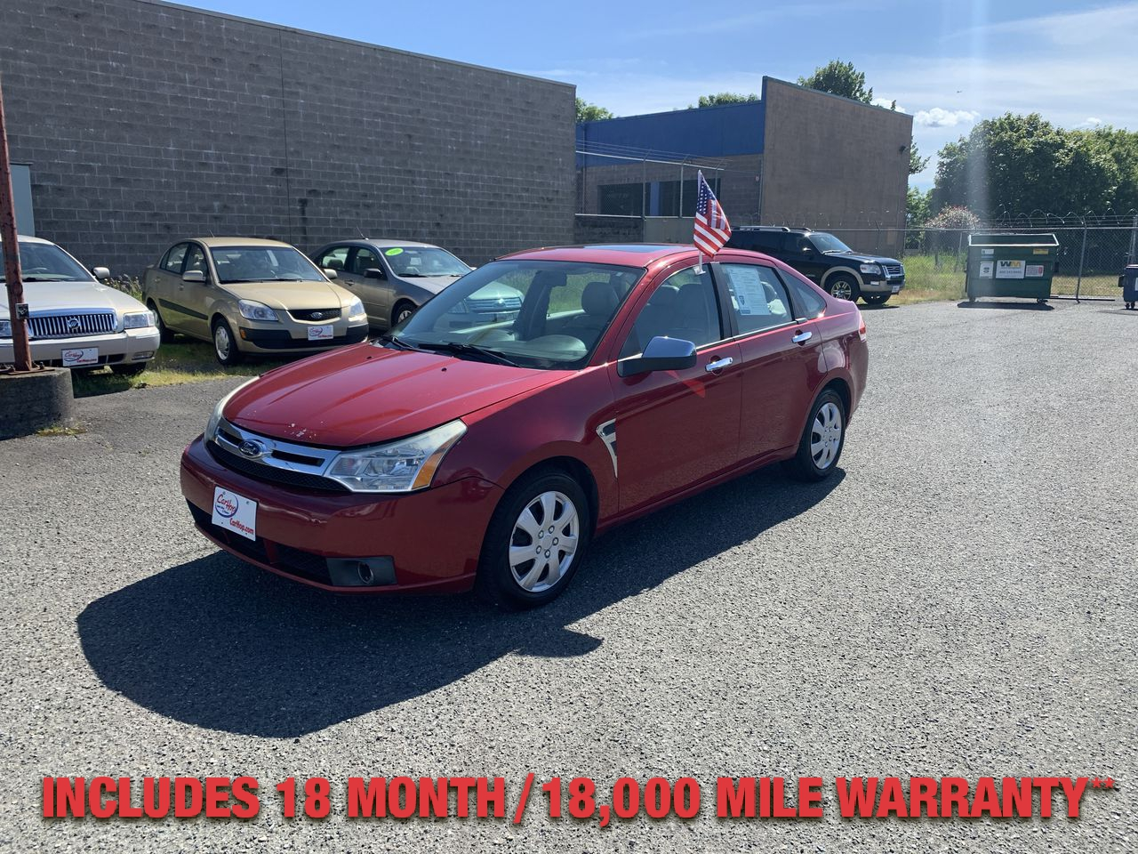 Pre-Owned 2009 FORD FOCUS SEL Sedan
