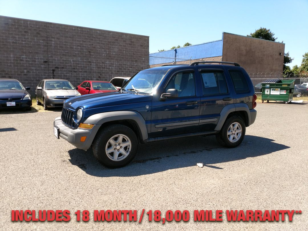 Pre-Owned 2005 JEEP LIBERTY Sport Util
