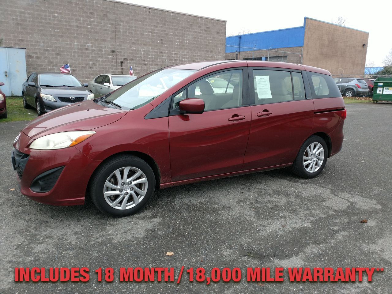 Pre-Owned 2012 MAZDA Mazda5 SPORT MINI