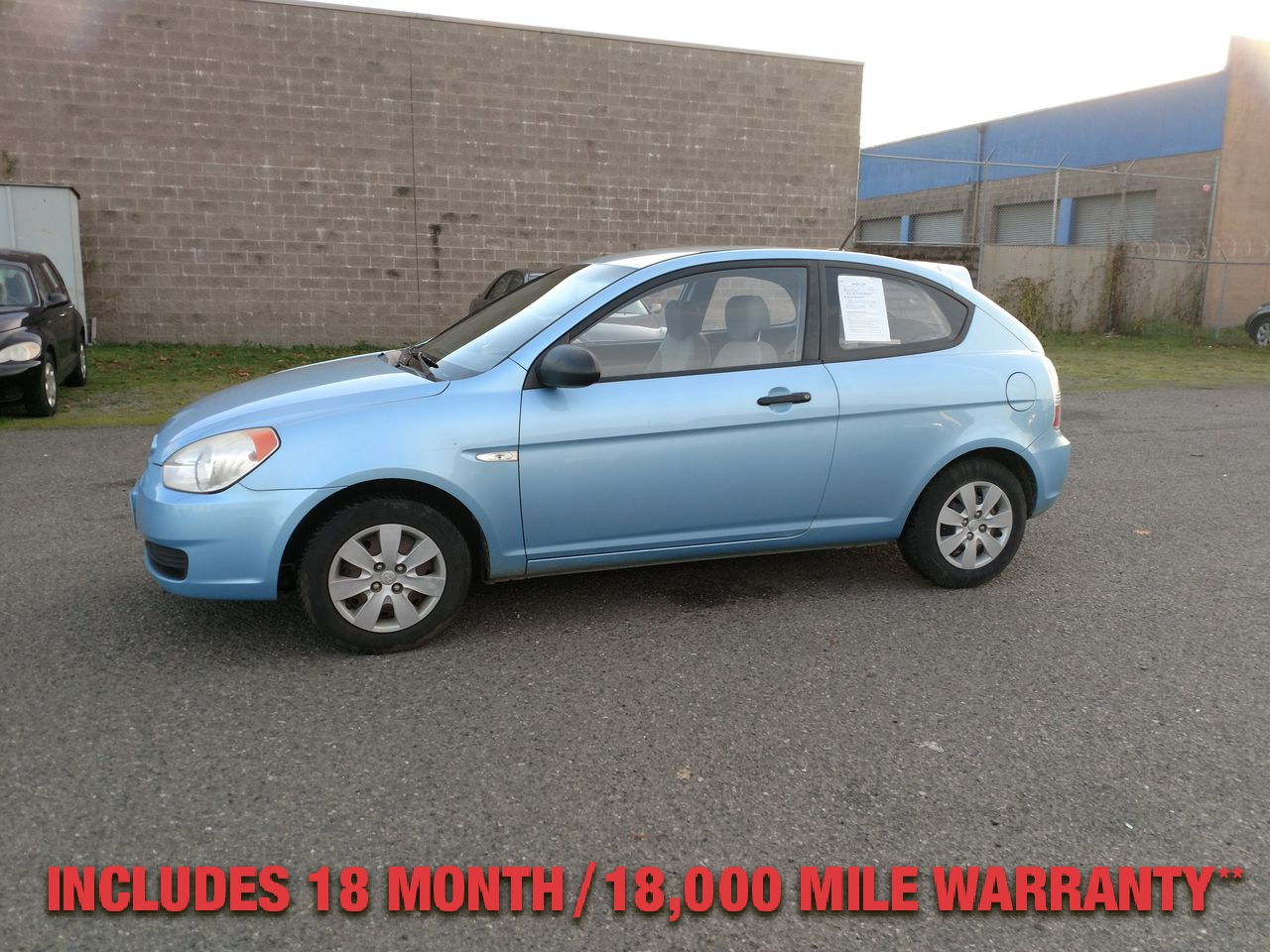 Pre-Owned 2008 HYUNDAI ACCENT GS Hatchba