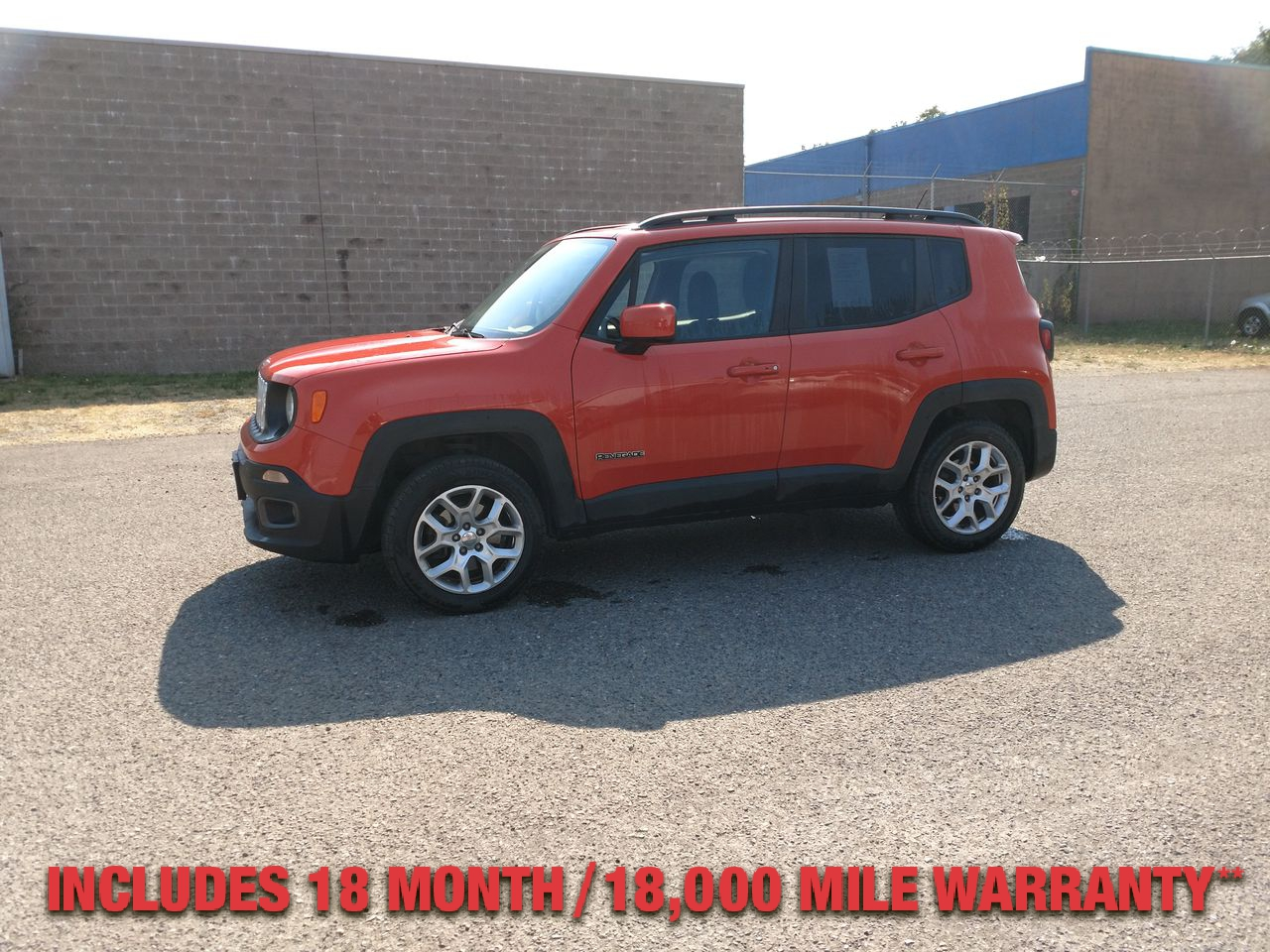 Pre-Owned 2016 JEEP RENEGADE LATITUDE S