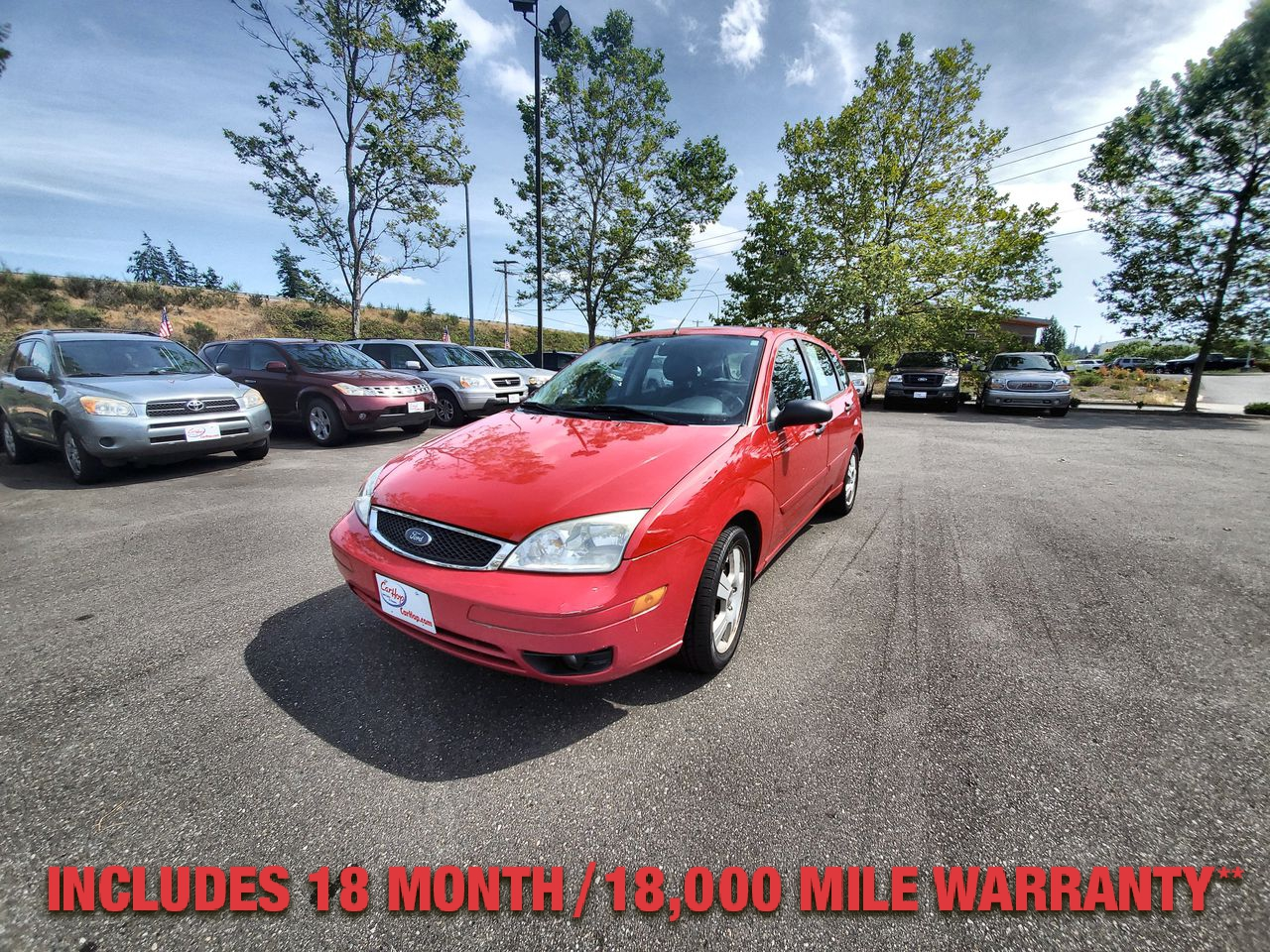 Pre-Owned 2006 FORD FOCUS ZX5 S