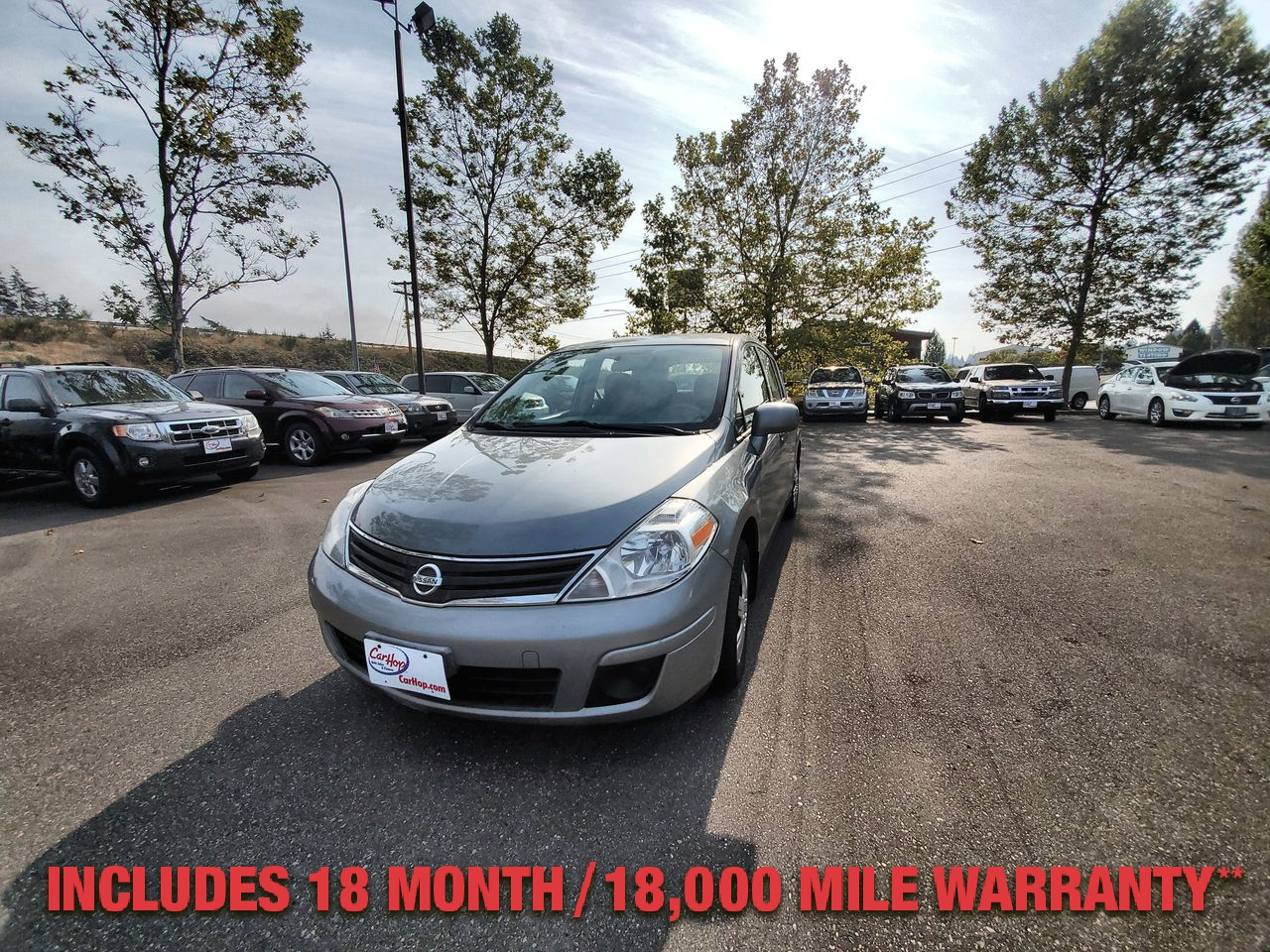 Pre-Owned 2010 NISSAN VERSA S Hatchbac