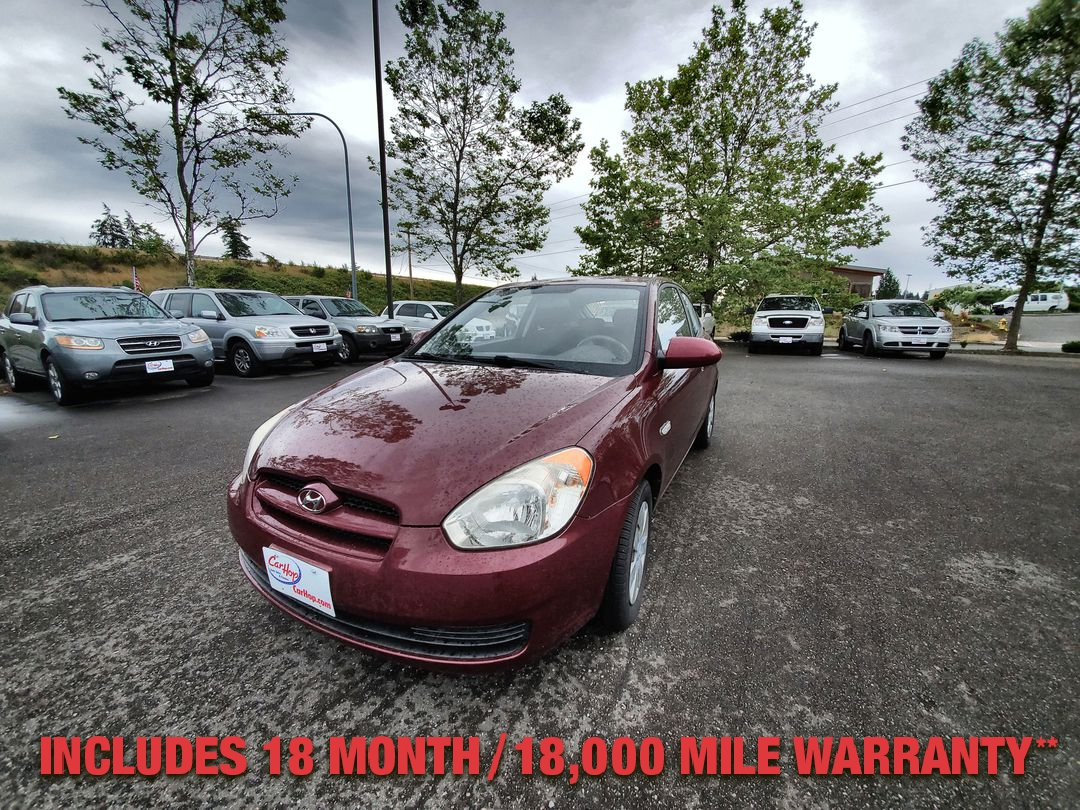 Pre-Owned 2007 HYUNDAI ACCENT GS Hatchba