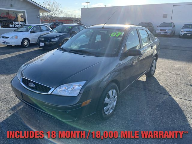 Pre-Owned 2007 FORD FOCUS S Sedan 4D