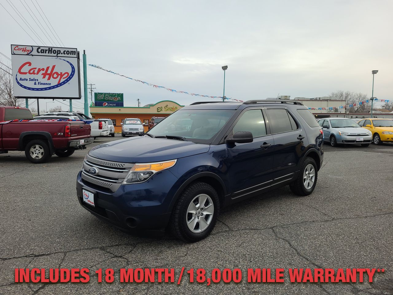 Pre-Owned 2012 FORD EXPLORER BASE 4WD