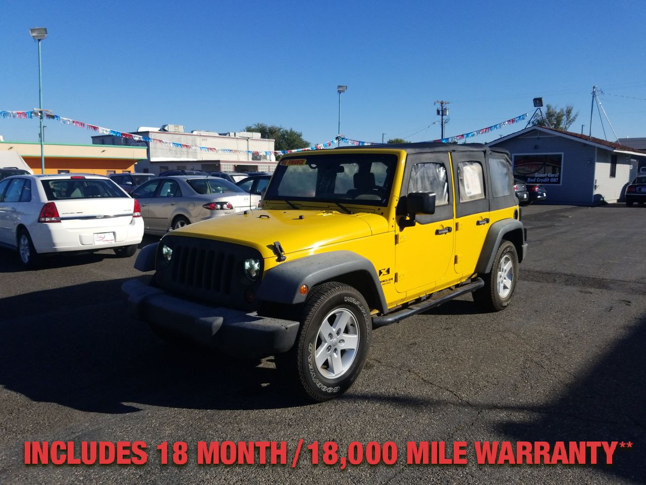 Pre-Owned 2008 JEEP WRANGLER UNLIMITED