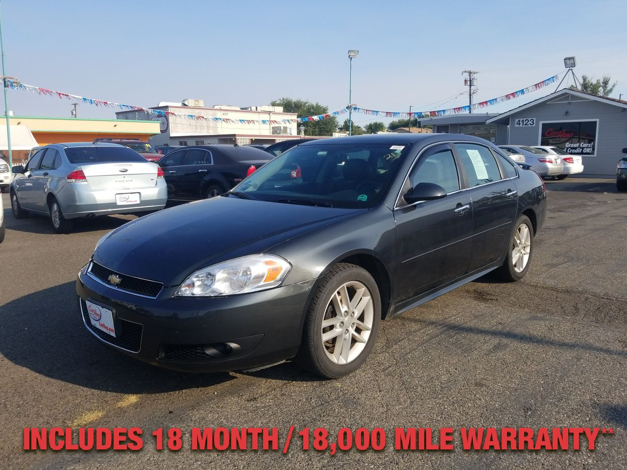 Pre-Owned 2013 CHEVROLET IMPALA LTZ Sedan