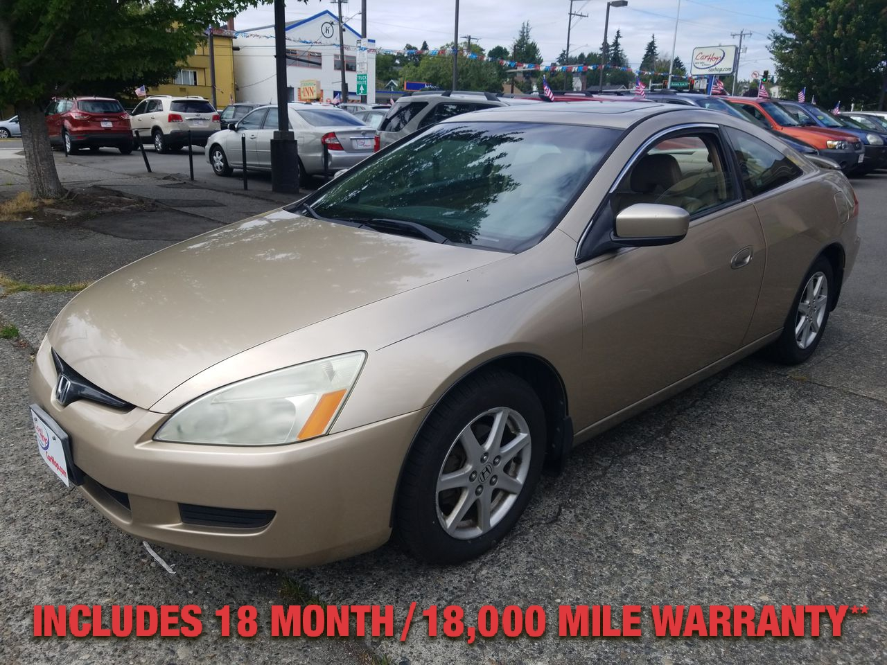 Pre-Owned 2004 Honda ACCORD EX-L Coupe