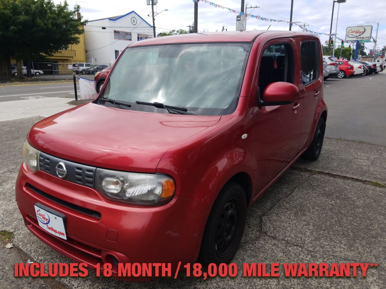 Pre-Owned 2009 NISSAN CUBE Wagon 4D