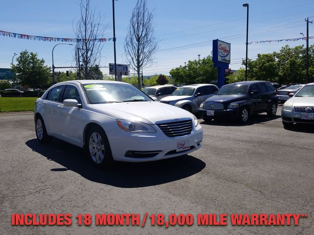 Pre-Owned 2013 CHRYSLER 200 LX SEDAN 4