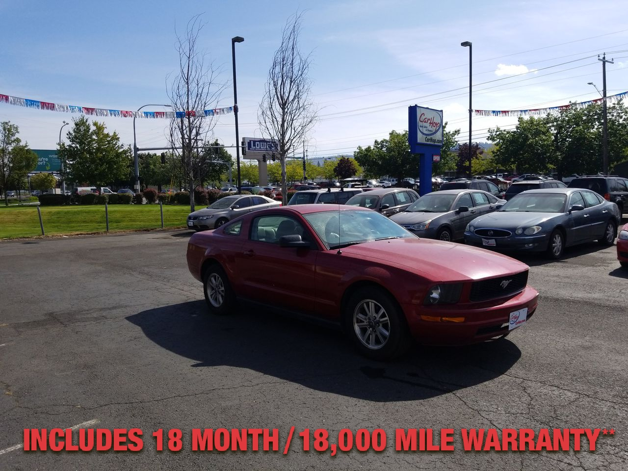 Pre-Owned 2006 FORD MUSTANG BASE