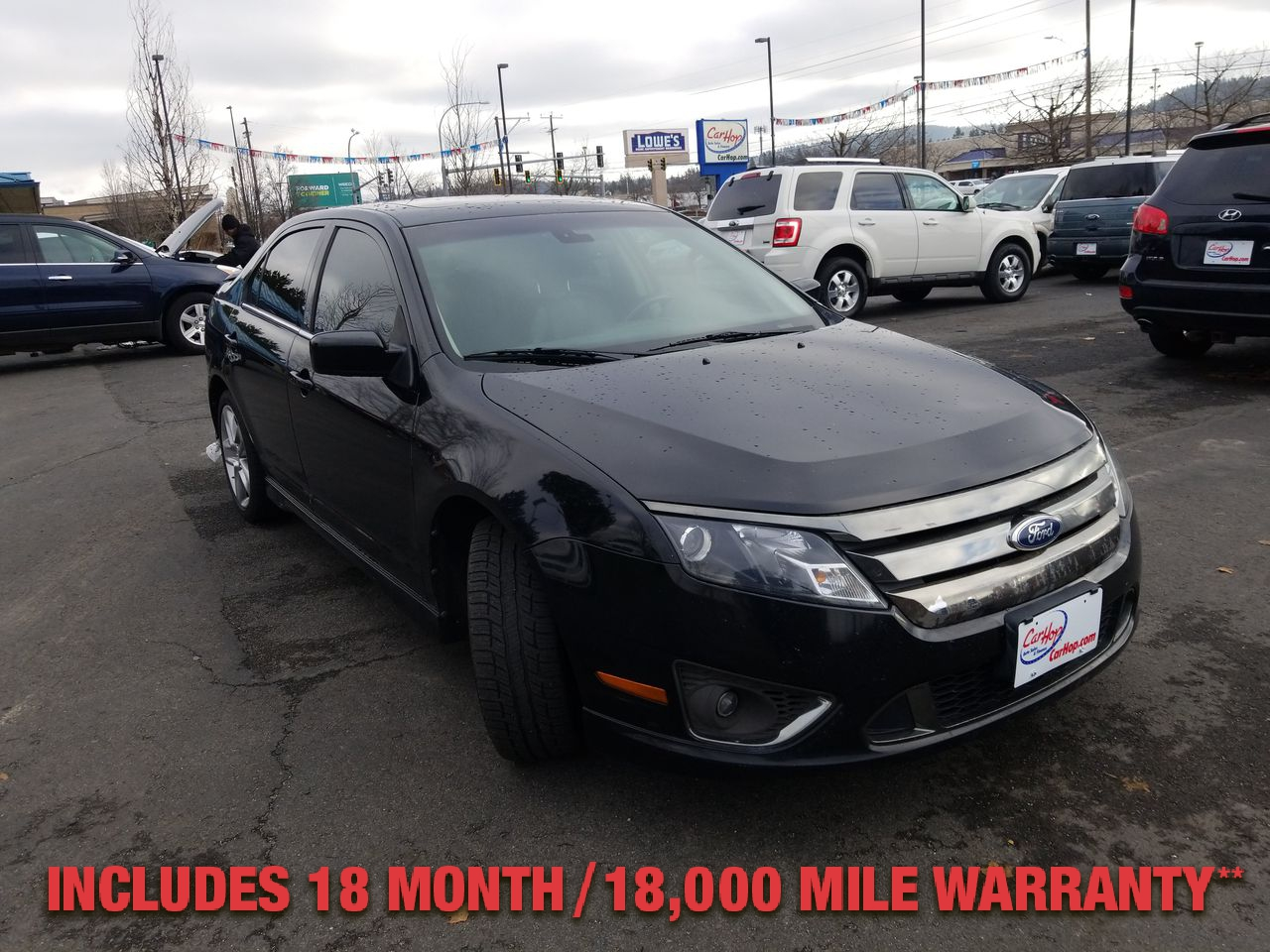 Pre-Owned 2012 FORD FUSION SPORT SEDA