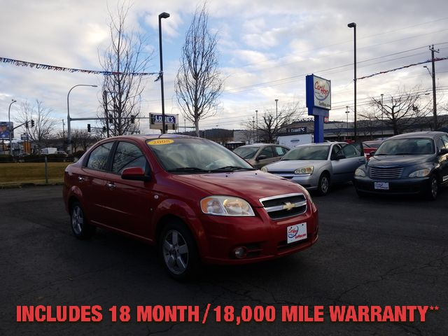 Pre-Owned 2008 CHEVROLET AVEO LT Sedan 4