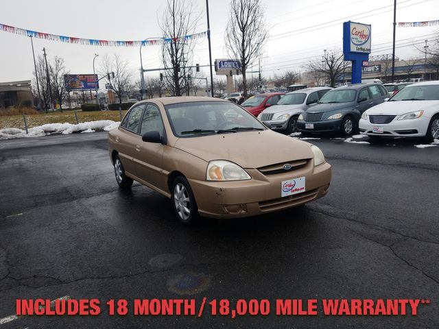 Pre-Owned 2004 KIA RIO Sedan 4D