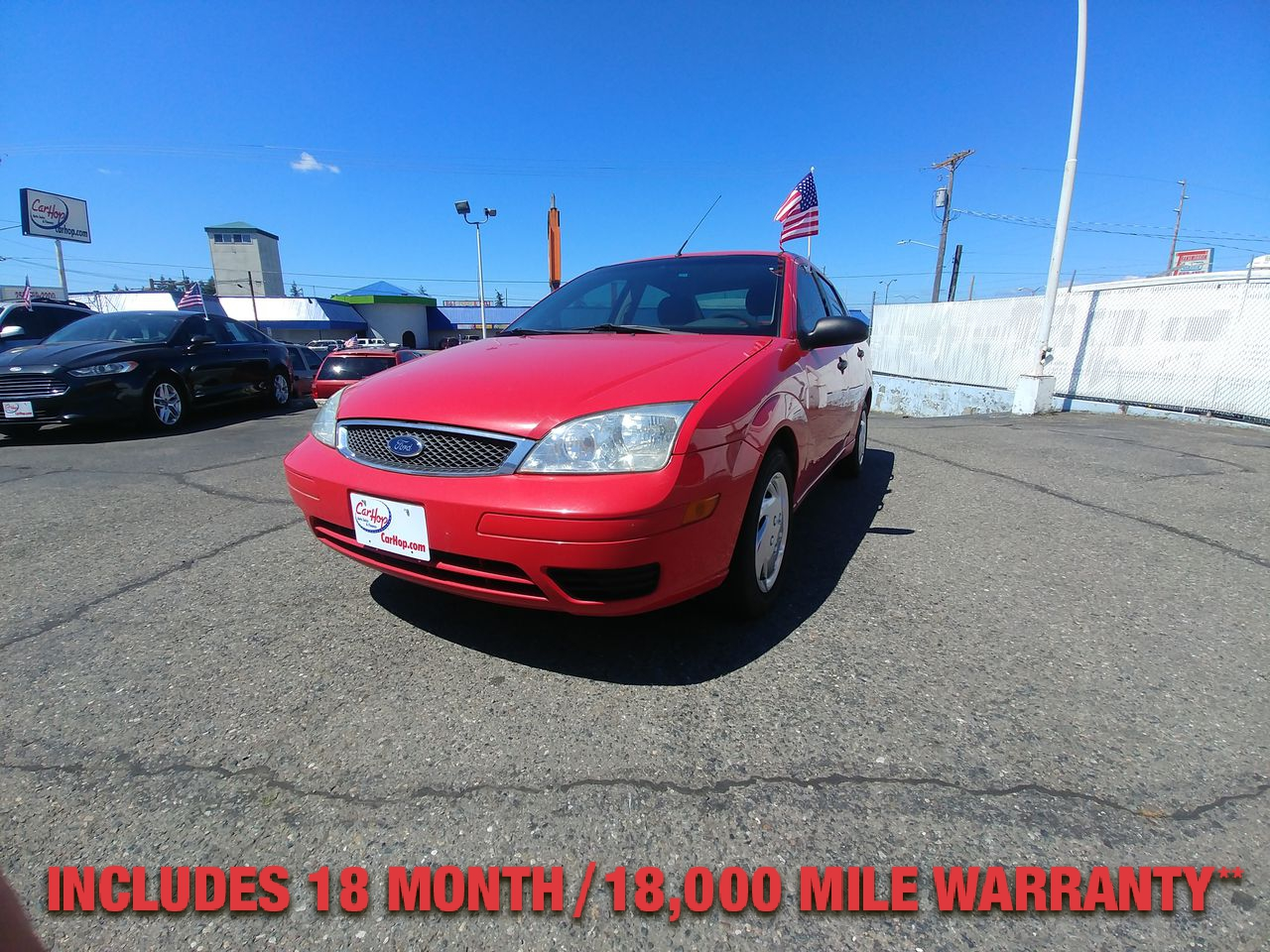 Pre-Owned 2005 FORD FOCUS ZX4 S SEDA