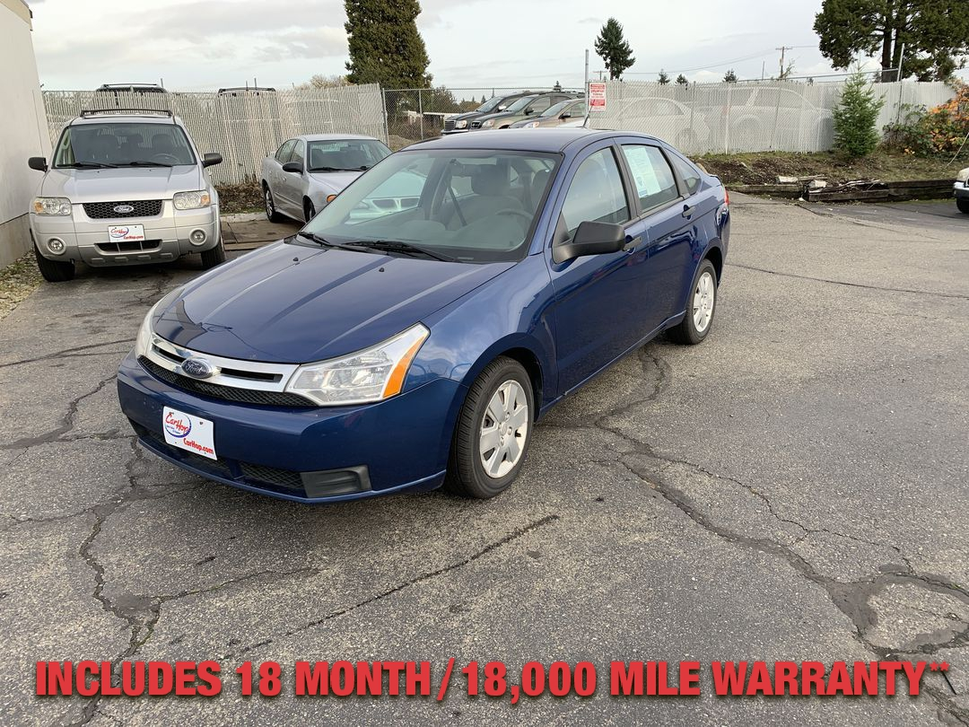 Pre-Owned 2009 FORD FOCUS S Sedan 4D