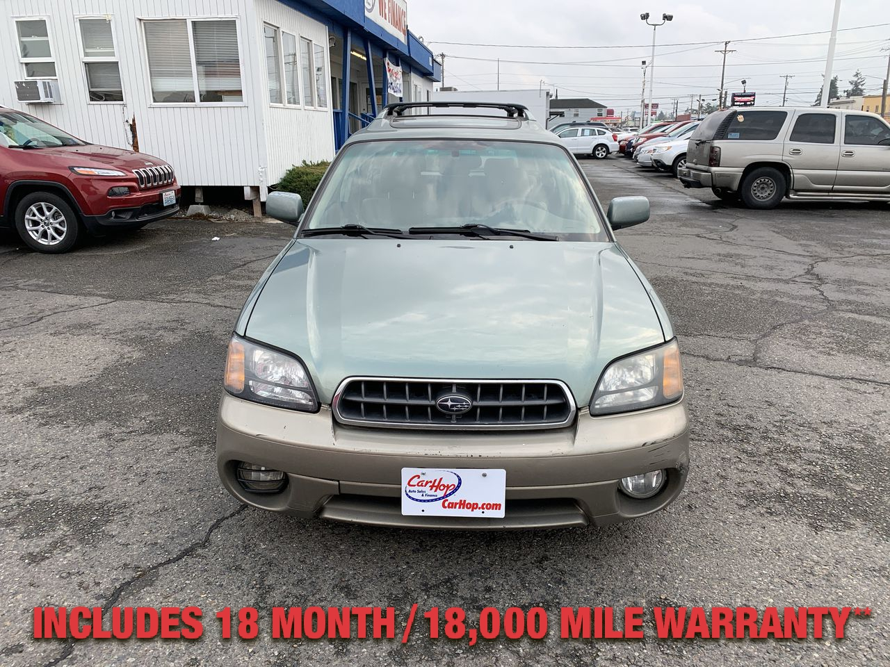 Pre-Owned 2004 SUBARU OUTBACK Limited Wa