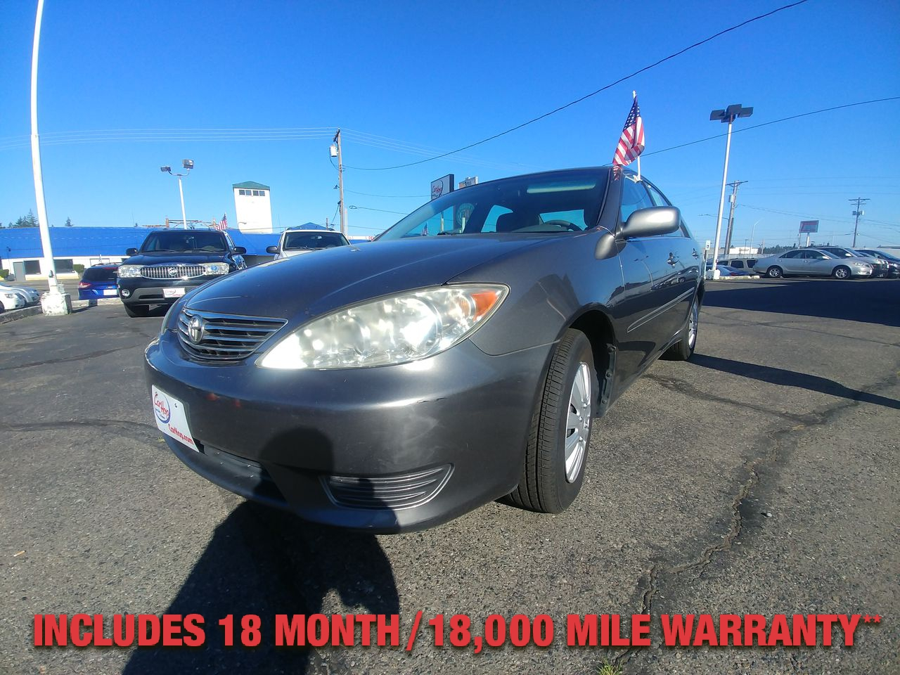 Pre-Owned 2005 TOYOTA CAMRY LE Sedan 4