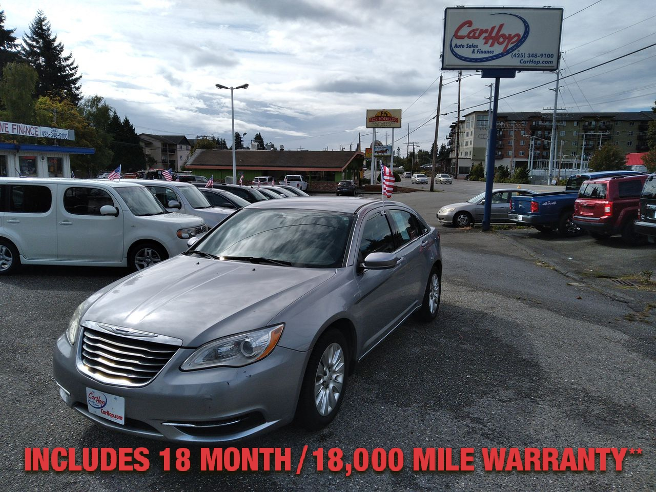 Pre-Owned 2014 CHRYSLER 200 LX SEDAN 4