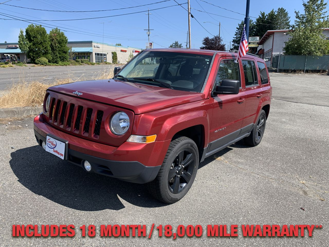 Pre-Owned 2015 JEEP PATRIOT Sport SUV