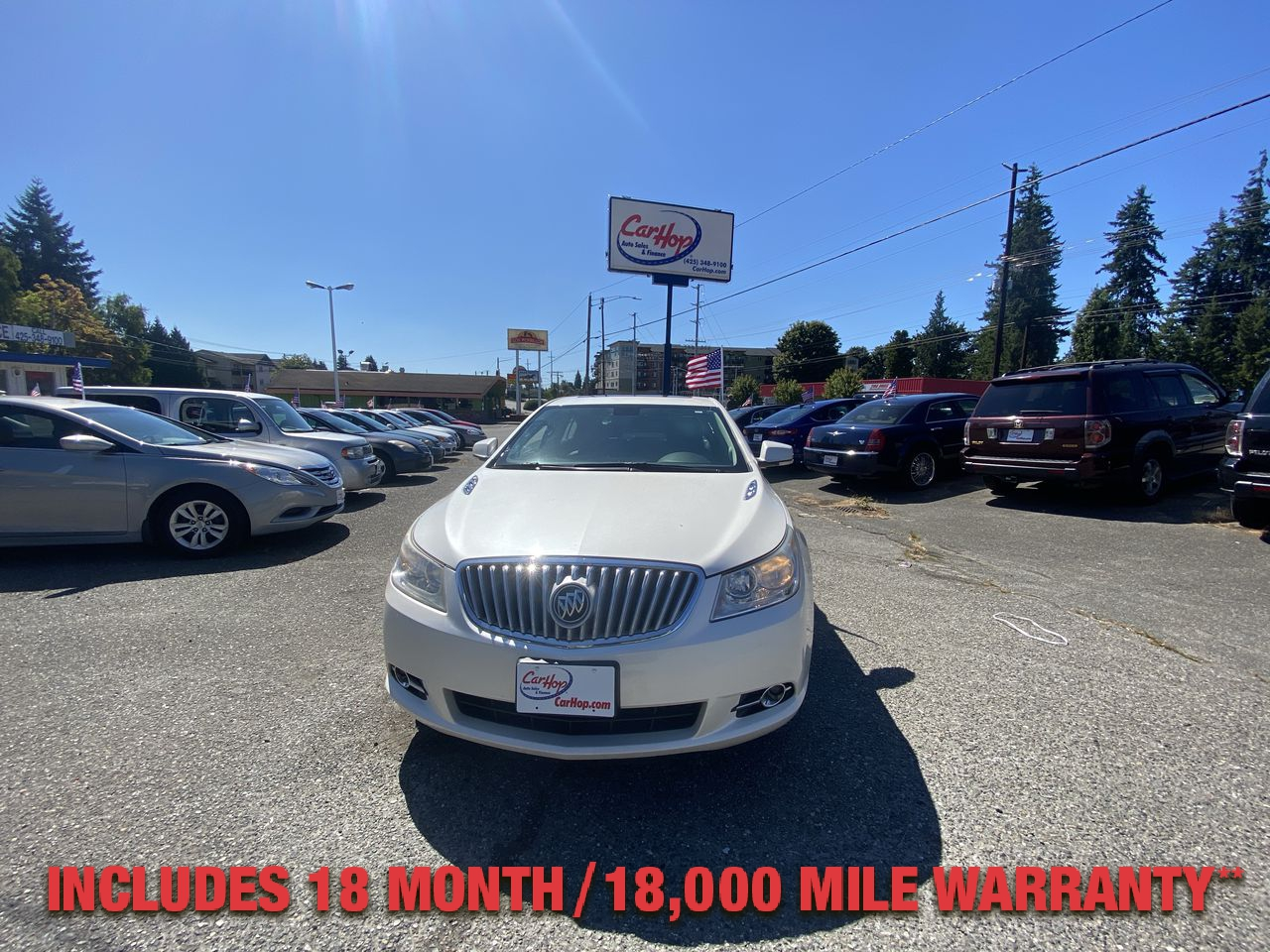 Pre-Owned 2010 BUICK LACROSSE CXL Sedan