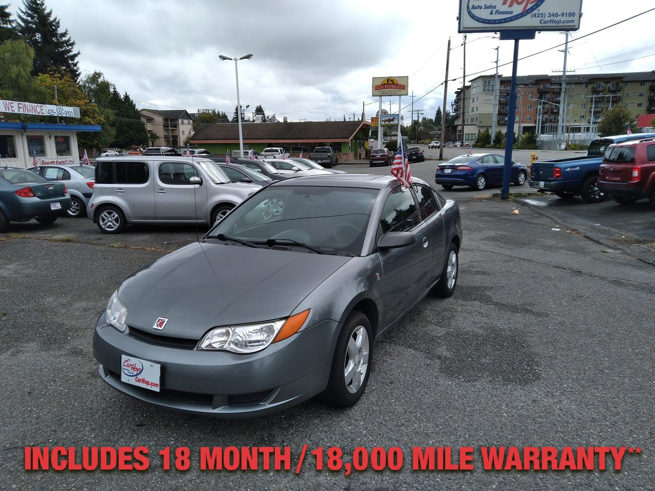 Pre-Owned 2007 SATURN ION 2 Quad Cou